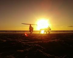 ShortSands (theoelliot) Tags: sunset oregon coast surf pacific surfer manzanita oswaldwest shortsands