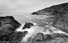 Trevose Head, Cornwall (Macc Lad) Tags: autumn sea lighthouse blur water rock landscape cornwall waves trevosehead nd3 06gnd