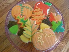 Fall Cookies!