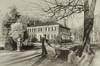 The Beauty of Black & White (Werner Kunz) Tags: old bw house money texture college boston photoshop vintage blackwhite nikon rich wideangle newport villa mansion hdr photomatix colorefex nikond90 topazadjust werkunz1