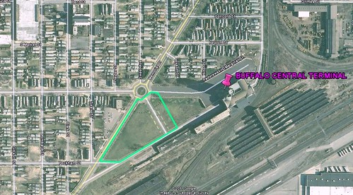 site of urban habitat restoration project (via Google Earth)