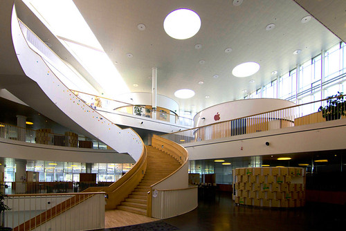 Ørestad Gymnasium by Wojtek Gurak, on Flickr