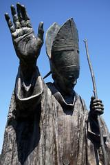 Pope John Paul II - Pilgrim of Peace (Sheena 2.0) Tags: sculpture usa america washington popejohnpaulii newjersey shrine nj asbury janpaweii giovannipaoloii washingtontownship warrencounty karoljzefwojtya ioannespaulusppii bluearmyshrine ii 08802 sheena20 allrightsreservedsheenachi sheenachi maksymilianbiskupski zip08802 blessedpopejohnpaulii bluearmyofourladyofftima worldapostolateofftima orbisunusorans oneworldpraying nationalbluearmyshrineoftheimmaculateheartofmary maxbiskupski metkolakrupa metkolkrupa metkolkrupawpraszce miroslawmaxbiskupski mirosawmaxbiskupski maximilianbiskupski pielgrzympokoju pilgrimofpeace