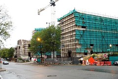Chinese embassy under construction 2007 (c2007 FK Benfield)