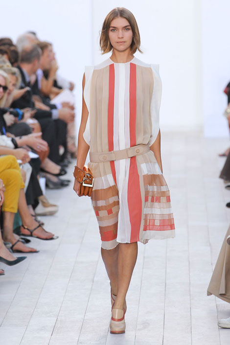 Chloe - Drop Waist, drop waist dress, spring 2012, fashion trends