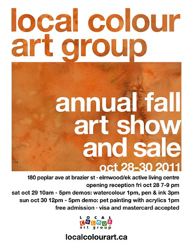 Local Colour Art Group Fall 2011 Art Show