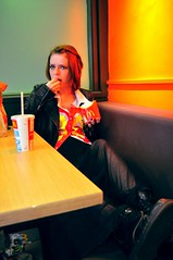 McDonalds (amywalkerphoto.co.uk) Tags: girl beautiful fashion photography pretty cigarette gorgeous burger smoke fastfood coke chips mcdonalds smoking fries stunning cocacola lovely cigarettes macdonalds drmartens docmartens