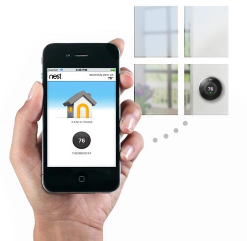 Nest恒温器 苹果前设计师的新作-玩意儿