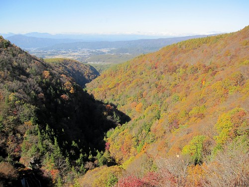 横谷観音展望台から見た紅葉 2011年10月26日10:04 by Poran111