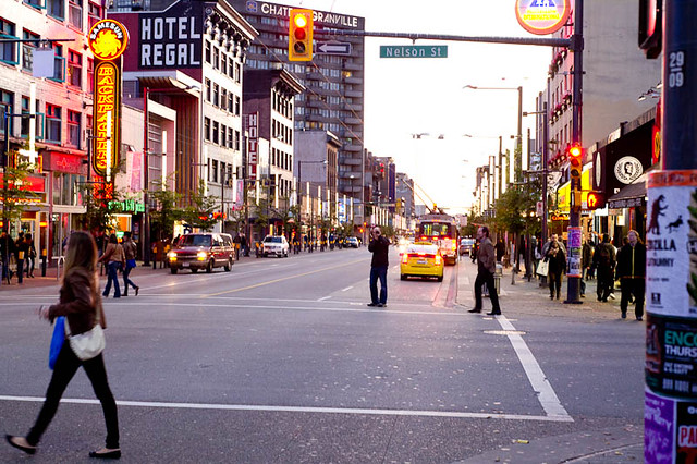 Nelson St and Granville Street