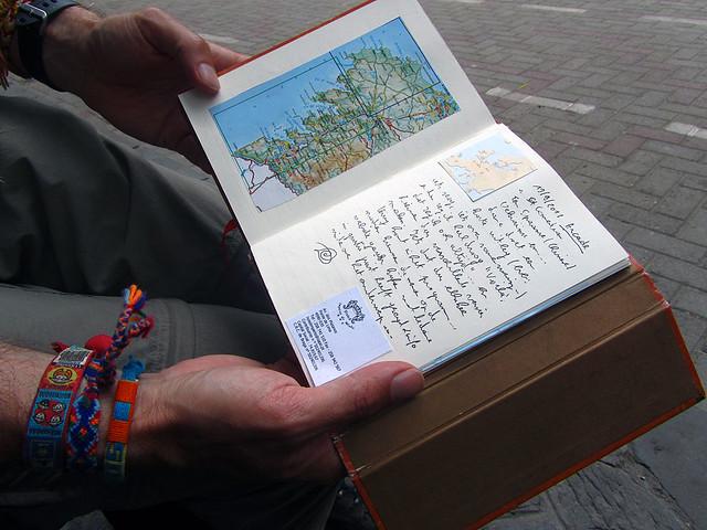 Carl's travel journal