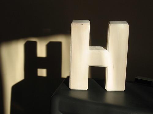 H in the sun