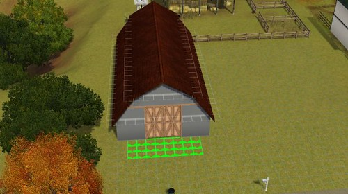 how to build a horse barn on sims 3 pets 3