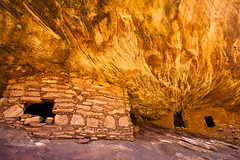 Call 911... (Ellie Stone) Tags: house southwest rock canon utah interesting ancient ruins angle flames naturallight wideangle roadtrip explore hidden gratitude 1740mm americanindian granary houseonfire hiddengem mountainlionterritory