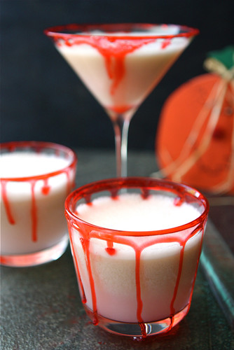 halloween vampire punch recipe with lime sherbet cookin - Spiked Halloween Punch Recipes