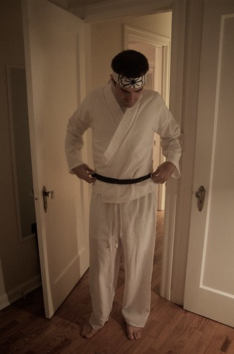 tay's karate costume