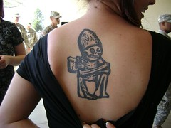 Rogue Back Tattoo (Rogue Ales) Tags: tattoo ink rogue rogueales deadguy roguebrewery beertattoos