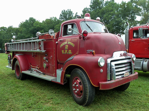 1954 GMC COE Based Ahrens-Fox Fire Engine