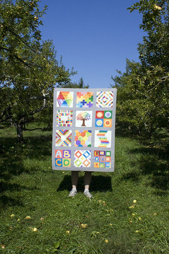 Quilt in the Apple Orchard