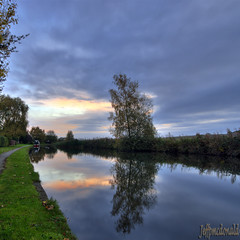 Bridgewater Canal at Moore Village, UK. (Jeffpmcdonald) Tags: uk warrington village cheshire moore runcorn bridgewatercanal nikond80 jeffpmcdonald ringexcellence dblringexcellence oct2011 flickrstruereflection1 flickrstruereflection2 flickrstruereflection3 flickrstruereflection4