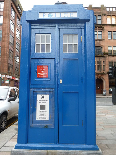 Old Style British Police Box, Glasgow