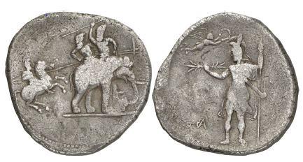 Poros Dekadrachm of Alexander the Great
