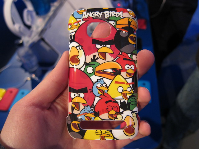 They Even Have Angry Birds Cover For The Nokia Lumia 710