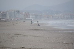 The beach (Dbennison) Tags: ocean chile trip travel november cold beach wet water america fun la pentax south adventure backpacking rainy da serena sa k5 laserena 2011 1650m