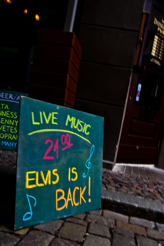 Riga, Elvis is Back!