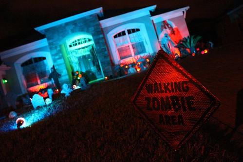Walking Zombie Area