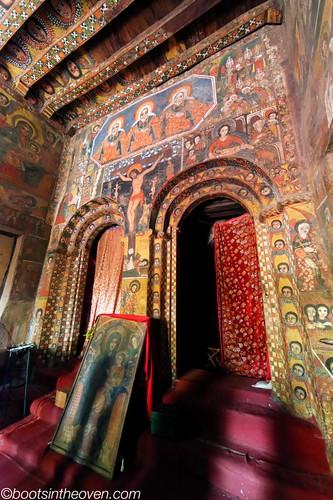 Debre Birhan Selassie Church, Gonder, Ethiopia