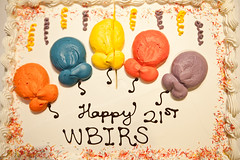 "4/11/11 ""Happy 21st WBIRS"" - Day 218 (Jhoven de Jesus) Tags: cake project 21st 365 the 366 project365 wbirs"