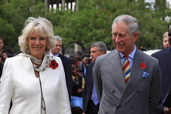 Prince of Wales and The Duchess of Cornwall visit Freedom Square, Soweto.