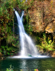 Glenwood Falls (Sky Noir) Tags: travel blue cliff mountains green fall water beautiful river virginia waterfall moss scenery scenic gap ridge va tavern vesuvius flowing mossy tye steeles viriginia skynoir bybilldickinsonskynoircom