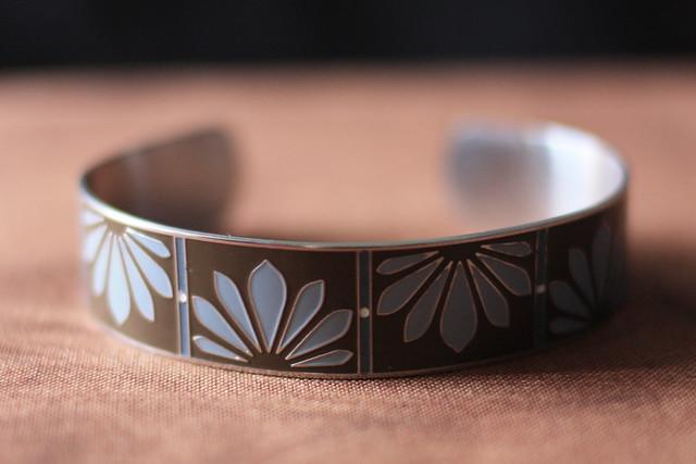 petal cuff bracelet