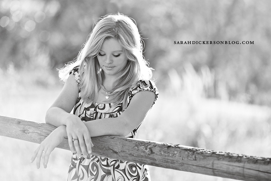 Shawnee Mission Park senior portraits