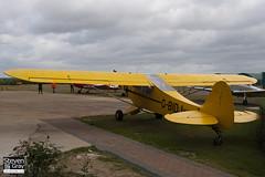 G-BIDJ - 18-6007 - Private - Piper PA-18A-150 Cub - Panshanger - 110522 - Steven Gray - IMG_3908