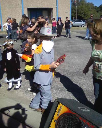 Racist costume