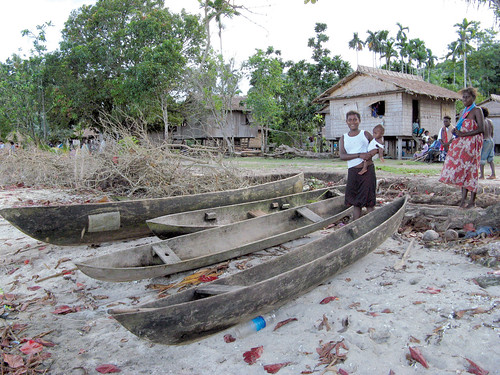 Coastal disaster, Pacific Islands. Photo by Alexander Tewfik, 2008.