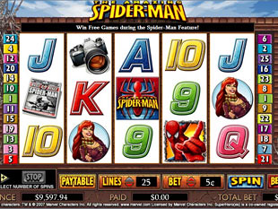 Spiderman slot game online review