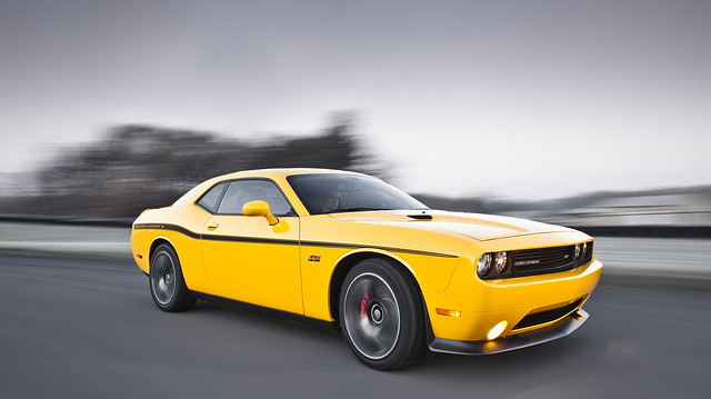 2012 Dodge Challenger SRT8® 392 Yellow Jacket