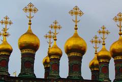 Spires in the Kremlin (moodymusick) Tags: kremlin moscowrussia sx30is