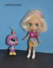 Amapola e sua corujinha Lilac!!
