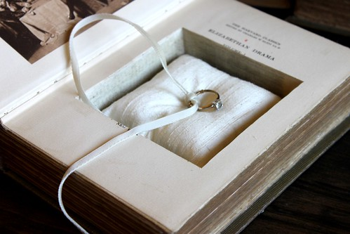 ring pillow book safe by pommes frites