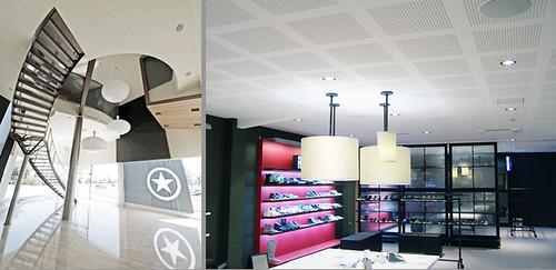 showroom y oficinas converse españa | erredeeme arquitectos
