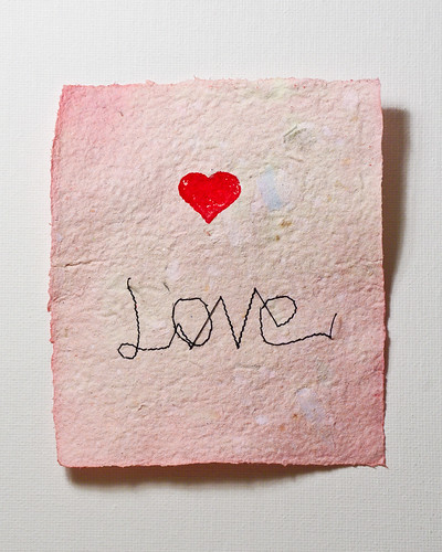 Love mixed-media