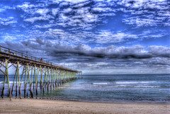 063/365 - Kure Beach, North Carolina (Eric Adeleye Photography) Tags: ocean beach water north atlantic carolina hdr kure vivitarseries11935mm nikond200 project365 adobephotoshopcs5 photomatix4