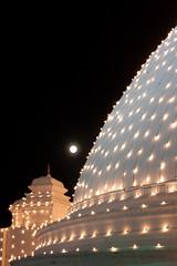 IMG_8134 (Library Images of Sri Lanka) Tags: moon photography lights asia stock srilanka ceylon southasia 2011 dagaba beautifulimages kalaniya photosofsrilanka imagesofsrilanka priyalmahendre chaiythiya kelaniyatempel