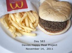Davies Happy Meal Project Day 583 (sally davies photo) Tags: mcdonaldshappymeal sallydaviesphoto mcdonaldshappymealproject davieshappymealproject sallydavieshappymealproject