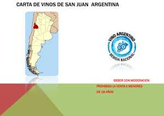 Carta de Vinos San Juan